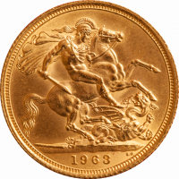 England 1 Pfund Souvereign Gold