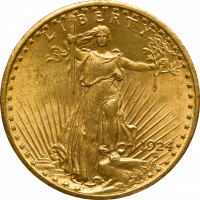 USA 20 $ Saint Gaudens