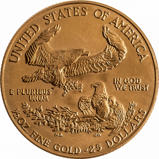 Eagle 1/2 Unze Gold