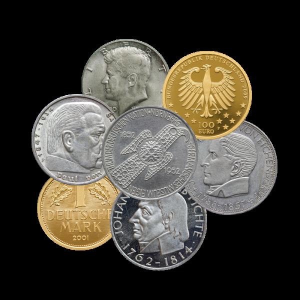 Sammlermünzen Pacht Gold Münzen Und Edelmetallhandel In Kiel
