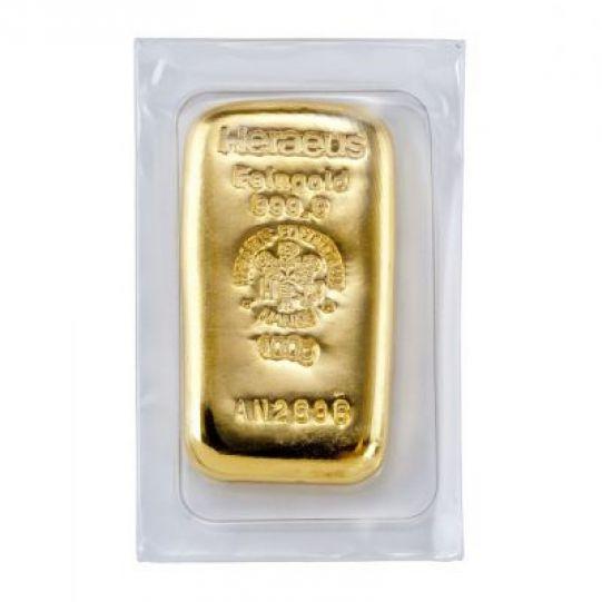 Goldbarren 100g Pacht Gold Münzen Und Edelmetallhandel In Kiel